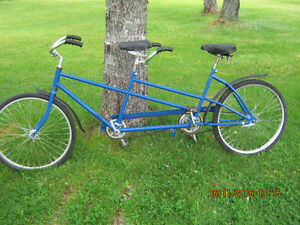 40-50 Year Old Antique Columbia Twosome Tandem Bicycle