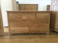 ***ex-display/seconds** Solid oak 7 drawer wide chest---ONLY £270---CALL TODAY!!!