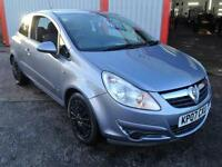 Vauxhall/Opel Corsa 1.2i 16v ( a/c ) 2007 Club GREAT FOR FIRST TIME DRIVER