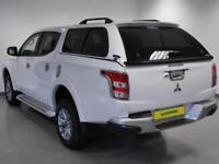 2017 Mitsubishi L 200 Double Cab DI-D 178 Barbarian 4WD Auto Diesel white Automa