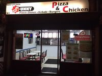 Chicken and pizza shop for sale