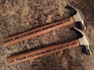 Custom Father's Day Hammers