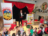 Kids Birthday Parties! Magician Entertainment! Live Animals! :)