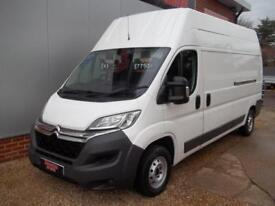 £ 43 A WEEK - 2014 64 REG NEW SHAPE CITROEN RELAY / PEUGEOT BOXER LWB H3 ROOF