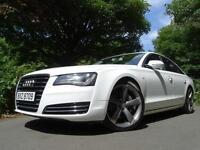 2011 11 Audi A8 3.0TDI (250ps) Tiptronic Quattro SE Executive..F.S.H..STUNNING!!