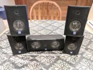 5 Russound speakers (book-shelf style)