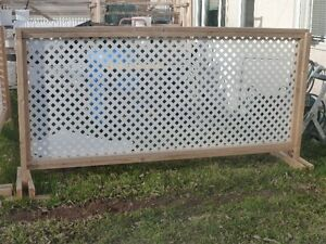 Temporary fence / fencing/ privacy screen Strathcona County Edmonton Area image 2
