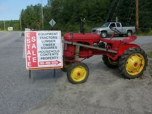 Estate Sale Farm and Heavy Equipment for sale