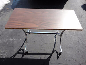 Vintage solid wooden console table sofa table