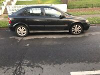 Vauxhall Astra SXI 2001 black