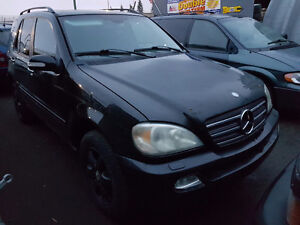 2003 Mercedes-Benz 500-Series ML SUV, Crossover