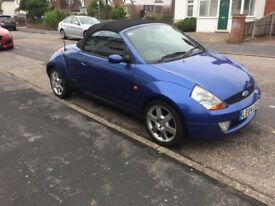 Ford Streetka with Car-a-tow A frame