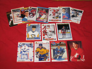 20 different hockey rookie cards, mostly from 1990s*