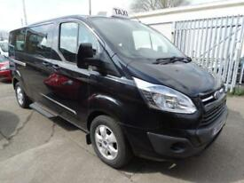 2015 '15' FORD TOURNEO CUSTOM 2,2 TDCI 300 L LIMITED 9 SEATER MINIBUS