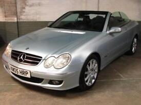 2005 05 MERCEDES-BENZ CLK 350 272 BHP AVANTGARDE CABRIOLET Htd.Elec.Memy.LEATHER