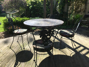 French Style Garden/Patio Dining Set
