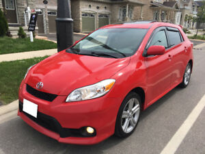 2011 TOYOTA Matrix *S* SPORT Fully LOADED 114 K Sunroof 1 OWNER
