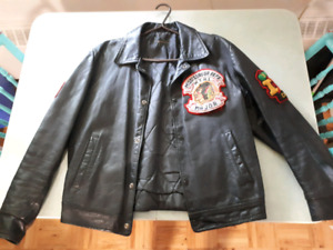 Mississauga Reps Leather Jacket