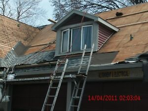 ROOF SPECIALIST SHINGLE & FLATS REPAIRS STARTIG & 150 Windsor Region Ontario image 7