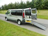 2010 Renault Trafic 2.0 WHEELCHAIR DISABLED ACCESSIBLE ADAPTED VEHICLE WAV