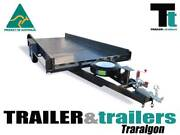 14 x 6'6 BOX TANDEM CAR CARRIER WITH SIDES Traralgon East Latrobe Valley Preview