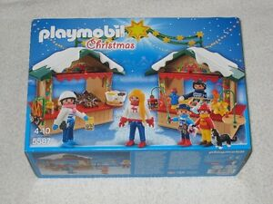 PLAYMOBIL #5587 - CHRISTMAS FAIR - BRANDNEW - *LAST ONE*