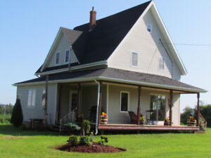 Weekly or Monthly Rental Sept/October, 4 Bedroom Country Home