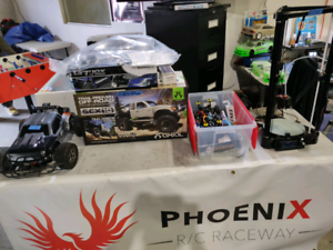 Thanks- Track side RC sale @ Phoenix RC raceway 10-4 and racing.