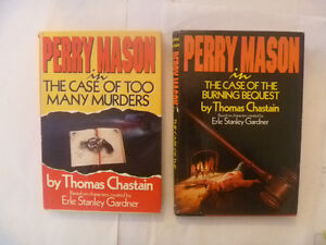 (2) PERRY MASON Hardcovers by Thomas Chastain