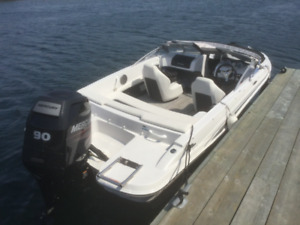 2015 Glastron boat 90 hp mercury four stroke