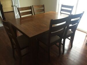 **Amazing All Wood Dining Room Set FOR SALE**