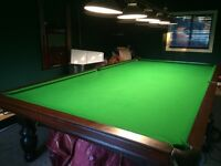 6x12 Antique Snooker Championship Pool Table