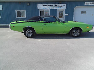 1971 DODGE SUPER BEE, 383, 4 SPEED, AIR GRABBER