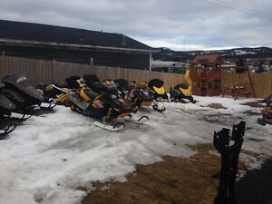 1996-2008 ski-doo zx and rev parts-call 709-597-5150 St. John's Newfoundland image 1