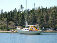 26 ft Pearson Sailboat Ready to Sail
