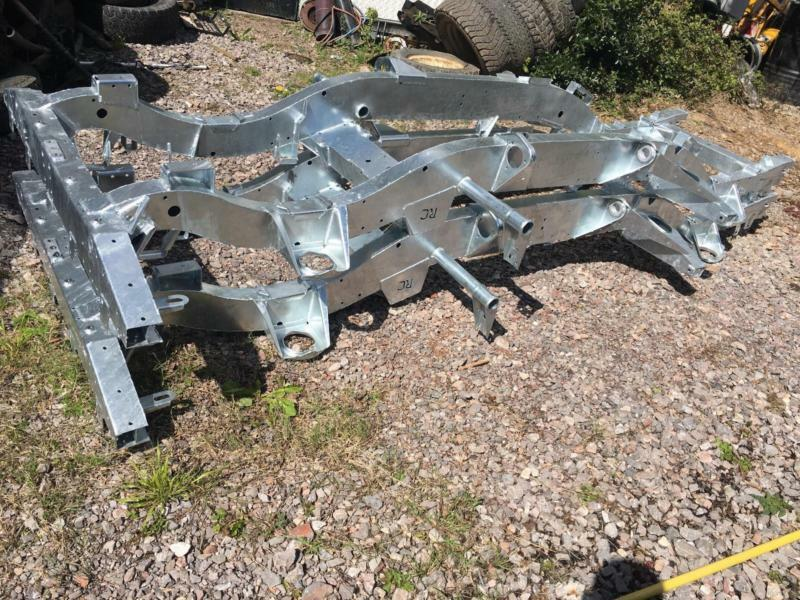 Land Rover 90 300tdi Galvanised Chassis Richards Chassis