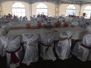 Satin Chair Covers for Rent  Peterborough Peterborough Area image 2