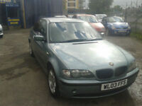 2003 BMW 316 1.8i SE ( LOOKING FOR £995 or BEST OFFERS TO CLEAR )