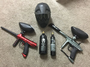 Paintball lot