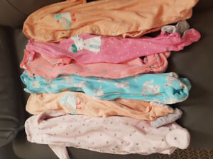 Size 9 month carters sleepers
