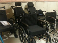 WHEELCHAIRS, WALKERS, SHOWER BENCHES AND MANY MORE