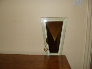 Wall Sconces with Beveled Glass
