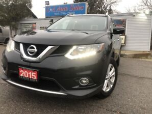 2015 Nissan Rogue AWD 4dr SV FAMILY TEC PKG 7 SEATS  Accident fr