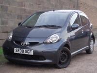 2008 Toyota AYGO 1.0 VVT-i +5dr***GENUINE LOW MILES 52K + HPI CLEAR***