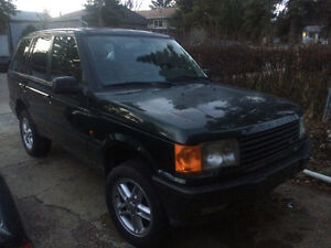 1997 Land Rover Range Rover SUV, Crossover