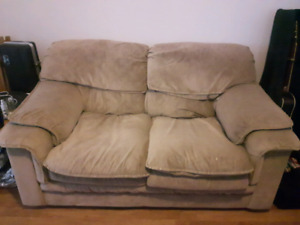 Small couch/large loveseat