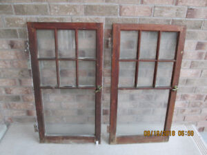 ANTIQUE WINDOW PANE