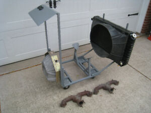 Engine Test Stand  /  Engine Dolly