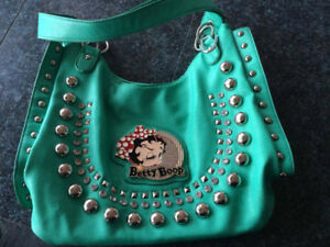 Betty Boop authentic purse