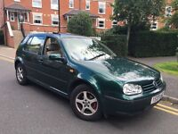 VOLKSWAGEN GOLF 1.6 S NEW SHAPE LADY OWNED CHEAP £695